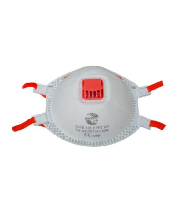 MASQUE COQUE A USAGE UNIQUE AVEC SOUPAPE FFP3 NR SAFE-P30 -SAFETY +